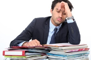 Stressed IT Admin
