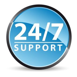 24/7 Support