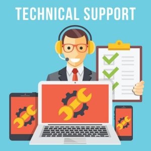 Outsourced hosting support